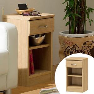 ナイトテーブル サイドチェスト ナチュラル調 ホノボーラ 幅30cm ( ベッドサイド 収納 電話台 サイドボード 北欧 シンプル )|interior-palette