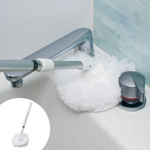 激落ちくん お風呂丸ごとクリーナー ショート伸縮 ( お風呂スポンジ バスクリーナー 浴室 バス 風呂清掃 バス清掃 )