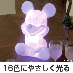 LEDインテリアライト ミッキーマウス ( イルミネーション ライト 飾り ディスプレイ 照明 LED ディズニー )|interior-palette