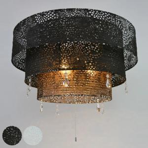 ペンダントライト 和紙 Leaf 3灯 ( 照明 天井 和風照明 )|interior-palette