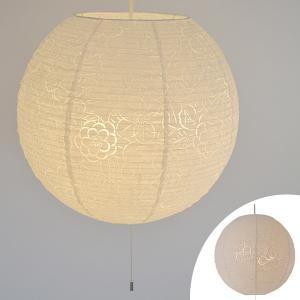 ペンダントライト 和紙 komorebi 椿 3灯 ( 照明 天井 和風照明 )|interior-palette