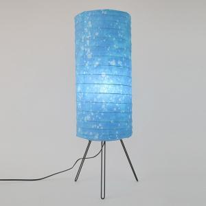 フロアライト 和紙 ラグーン 2灯 ( フロアスタンド 照明 スタンドライト )|interior-palette