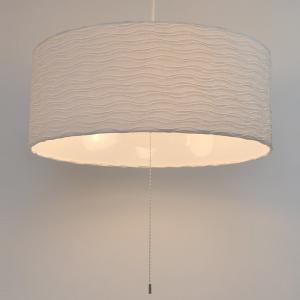 ペンダントライト 和紙 プリーツ 舞姫 3灯 ( 照明 天井 和風照明 )|interior-palette