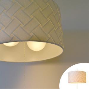 ペンダントライト 和紙 プリーツ 織姫 2灯 ( 照明 天井 和風照明 )|interior-palette