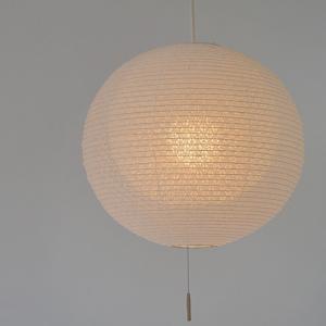 ペンダントライト 二重提灯 小梅白in小梅白 1灯 39cm ( 照明 天井 和風照明 )|interior-palette