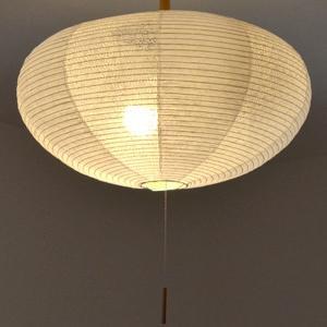 ペンダントライト 和紙 ペンダントランプ 揉み紙×麻葉白 2灯 ( 照明 ペンダント 和風 )|interior-palette