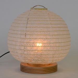 テーブルライト 和紙 テーブルランプ 麻葉白 ( 照明 テーブル LED )|interior-palette