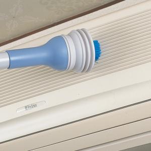 エアコンブラシクリーナー ( 掃除機用 ノズル ブラシ 簡易掃除機 掃除機用品 ホコリ ゴミ )