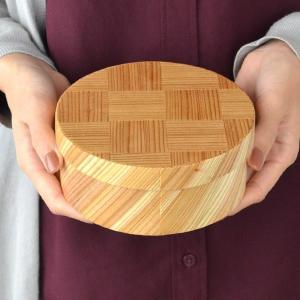お弁当箱 わっぱ弁当 日本製弁当箱 網代 丸型 一段 600ml 木製 ( 曲げわっぱ ランチボックス 日本製 ) interior-palette 04