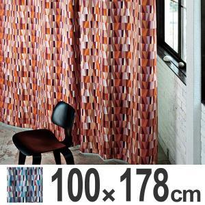 カーテン スミノエ MOSAIC モザイク 遮光カーテン 100×178cm ( 遮光 ドレープカーテン 既製 )|interior-palette