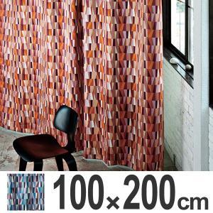 カーテン スミノエ MOSAIC モザイク 遮光カーテン 100×200cm ( 遮光 ドレープカーテン 既製 )|interior-palette