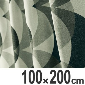 カーテン スミノエ 遮光カーテン OBORO オボロ 100x200cm ( 遮光 ドレープカーテン 既製 )|interior-palette