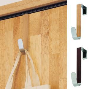 ドアフック シングル J型 ドアシングルフック フック ドア用 ( ドアハンガー 収納 バッグハンガー 扉フック ) interior-palette