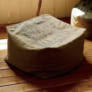 ビーズクッション クッション 帆布ビーズクッション リモ LIMO スクエア ( ソファ ビーズソファー フロアソファー )|interior-palette