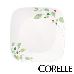 プレート 23cm コレール CORELLE スクエア 白 食器 皿 角皿 グリーンブリーズ ( 食...