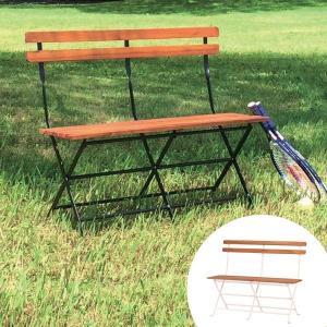 ベンチ 天然木 フォールディングベンチ ( 椅子 イス いす )|interior-palette