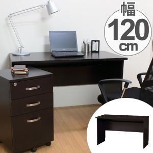 机 デスク ワークデスク 幅120cm ( パソコンデスク テーブル ワークデスク ) interior-palette