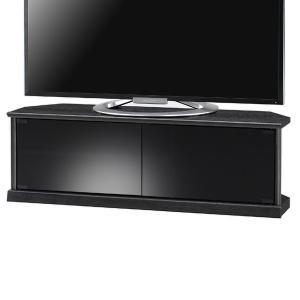 テレビ台 コーナー型 シンプルデザイン キャスター付 エスパス 幅100cm ( TV台 TVボード シンプル ブラック 三角 )|interior-palette