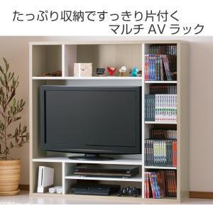 テレビ台 壁面収納 DVDラック付 オールインワン 幅115cm ( TV台 TVボード 壁面 ラック 収納 リビング ハイタイプ 本棚 )|interior-palette|02