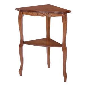 【ポイント最大26倍】テーブル TRADITIONAL コーナーコンソールテーブル ( 花台 コンソール 飾り台 )|interior-palette