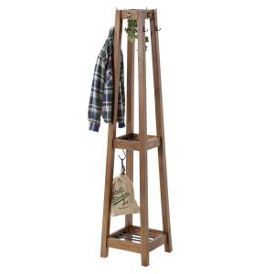 ハンガーラック 天然木 レトロ調 Timber 高さ162cm ( ハンガー ラック 洋服掛け )|interior-palette