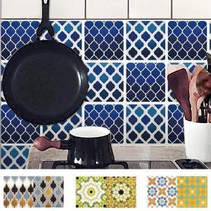 タイル シール タイルステッカー モロッコ柄 ゼリージュ ( タイルシール キッチン モロッカン )|interior-palette