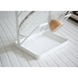 鍋フタスタンド トスカ TOSCA 鍋ふたスタンド 3段 トレー付き スチール製 ( 鍋蓋スタンド 鍋蓋置き 鍋ふた置き キッチン用品 )|interior-palette|04
