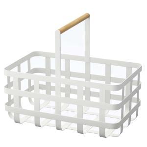 バスケット トスカ TOSCA 取っ手付き深型バスケット スチール製 ( 籠 かご カゴ 深型 キッチン収納 スチールバスケット )|interior-palette|03