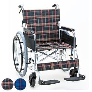 車いす 自走式 背折れタイプ KS50ワイドタイプ 座面幅46cm 非課税 ( 車椅子 車イス 介護 ) interior-palette