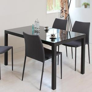 【週末限定クーポン】テーブル ダイニングテーブル ガラス天板 幅135cm ARGANO ( ガラス天板 机 食卓 )|interior-palette|06