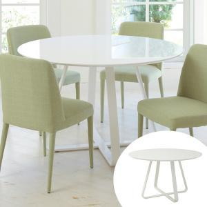 テーブル 円形 ダイニングテーブル CROP ( 丸テーブル 円卓 ホワイト )|interior-palette