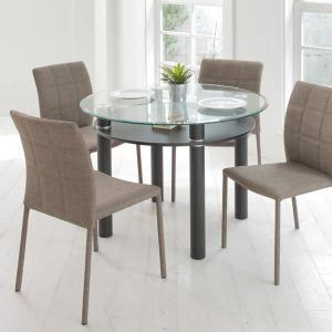 【48時間限定クーポン】テーブル 円形 ダイニングテーブル LUCID ( 丸テーブル 円卓 机 )|interior-palette|05
