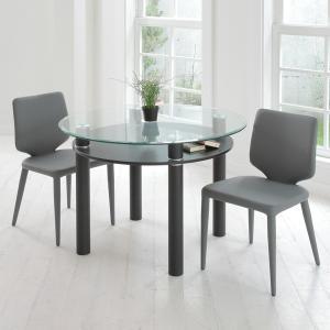 【48時間限定クーポン】テーブル 円形 ダイニングテーブル LUCID ( 丸テーブル 円卓 机 )|interior-palette|06