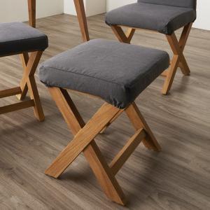 スツール チーク無垢材 ( 椅子 いす 背もたれなし )|interior-palette
