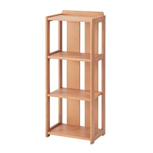 シェルフ 棚 天然木 ( ラック 収納 木製 )|interior-palette