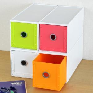 収納ボックス 幅11×奥行26×高さ12cm 1段 fs-720 ファイルストアーズ ヴィヴァン 引き出し 小物収納 収納 ( 収納ケース ケース ボックス )の写真