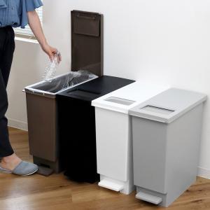 ゴミ箱 ペダル ユニード プッシュ&ペダル 45S ( ごみ箱 ダストボックス スリム 45L 45l ふた付 キッチン )