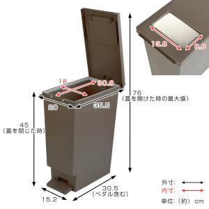 ゴミ箱 ペダル ユニード プッシュ&ペダル 2...の詳細画像4