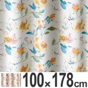カーテン 遮光カーテン スミノエ アリス ローズガーデン 100×178cm ( 遮光 ディズニー ドレープカーテン )|interior-palette