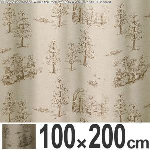 カーテン 遮光カーテン スミノエ くまのプーさん スコーグ 100×200cm ( ディズニー プーさん ドレープカーテン )|interior-palette