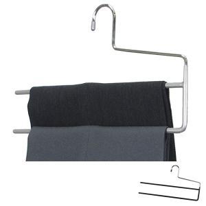 すべらないハンガー アニマーレ マルチ ズボン用 ( ハンガー スラックスハンガー 衣類ハンガー パンツ用 スラックス用 すべりどめ 収納 )|interior-palette