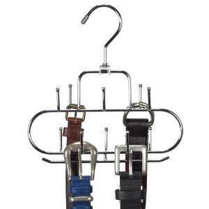 すべらないハンガー アニマーレ ベルトW  ( ハンガー ネックレス ベルトラック 収納 ネックレス掛け スカーフ 小物 )|interior-palette