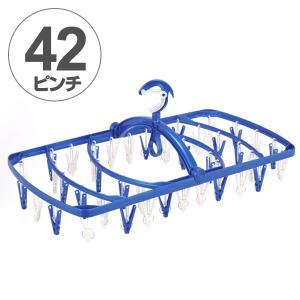 【ポイント最大26倍】洗濯ハンガー 角ハンガー EXII 長ピンチラクラク角ハンガー 42P ( 洗濯 角ハンガー 物干し )|interior-palette