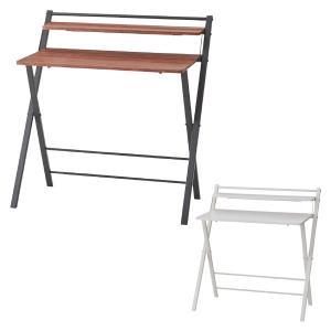 【週末限定クーポン】折りたたみテーブル 幅90cm フォールディングデスク ( 書斎机 勉強机 学習机 )|interior-palette