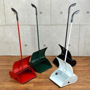 ちりとり スチール製 カラーチリトリ ( チリトリ ちり取り おしゃれ ブンチリ 文化チリトリ 掃除 清掃 玄関  )|interior-palette