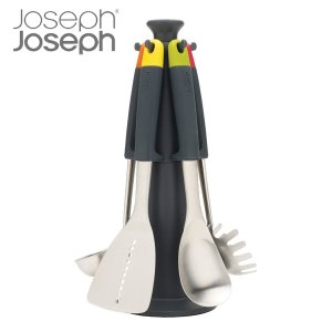 Joseph Joseph ジョゼフジョゼフ エレベートスチールカルーセルセット キッチンツール 5点セット ( キッチン ツール 調理用品 ツールセット )|interior-palette
