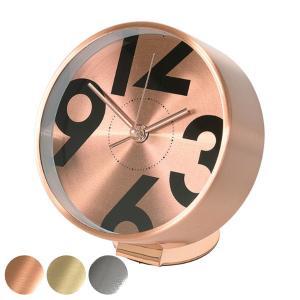 時計 アラーム時計 置き時計 EDGE BESIDE NUMBER ( 目覚まし時計 アラームクロック おしゃれ )|interior-palette