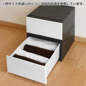 収納ケース プラスチック 引き出し フロスト 彩 幅35×奥行44×高さ20cm チェスト 日本製 ( 収納 収納ボックス 衣装ケース クローゼット収納 )|interior-palette|05