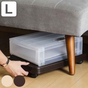 平台車 L ラクゴロ 台車 キャスター付き 耐荷重28kg 日本製 ( ホームキャリー キャリーカート 家庭用台車 ) interior-palette