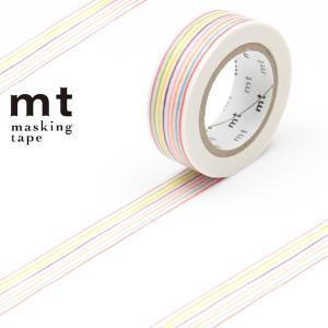手でちぎって、貼って、はがせるmt(エムティー)シリーズのマスキングテープです。薄いですが強度があり...